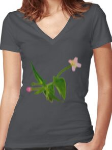 We are your pretty weeds Women's Fitted V-Neck T-Shirt