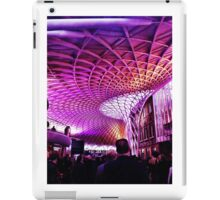 King's Cross Station at rush hour iPad Case/Skin