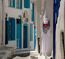 Mykonos Alley Way by phil decocco