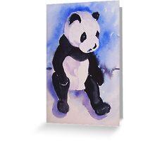 Cuddly Panda Greeting Card