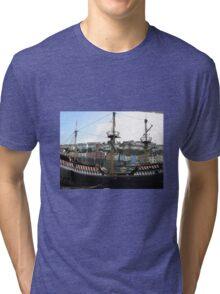 GOLDEN HIND- BRIXHAM - DEVON Tri-blend T-Shirt