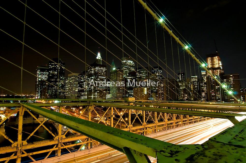 Brooklyn Grid by Andreas Mueller