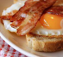 Egg&bacon by Þórdis B.