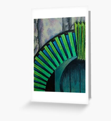 Drain Vent - Oil Pastel Greeting Card