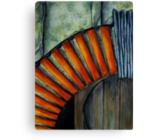 Drain Vent - Watercolour Canvas Print