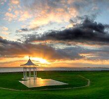 Bandstand at sunset by GordonScott
