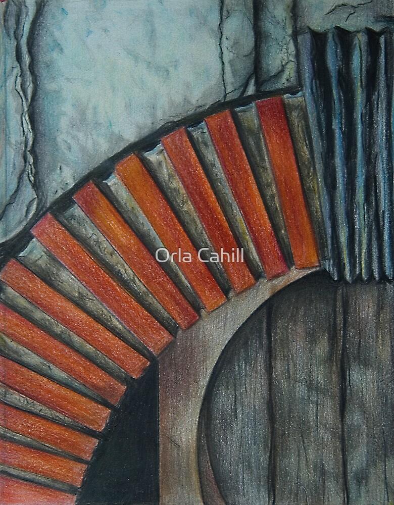Drain Vent - Pencil by Orla Cahill