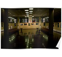 Exposition hall (my exhibition today) Poster