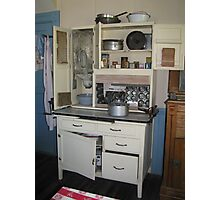 A hoosier cabinet  Photographic Print