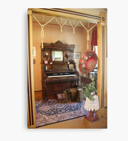 Pump Organ  Metal Print