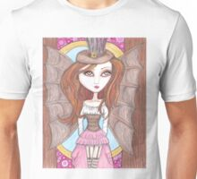 steampunk fantasy big eyes faerie art Unisex T-Shirt