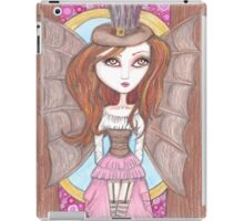 steampunk fantasy big eyes faerie art iPad Case/Skin