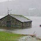 Esthwaite Boat House by Simon Hathaway