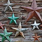 Barn stars by Susana Weber