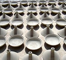 Pottery, Fez by Gordon  Newlands