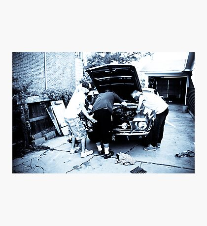 Motor Heads Photographic Print