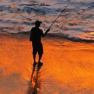 Sunset in the tropical paradise - Puesta del sol en el paraiso tropical by Bernhard Matejka