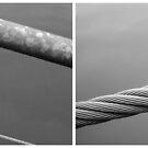 Floating Bridge (diptych 1/2) by Lenka