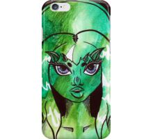 Horny Space Babe Pt.1 iPhone Case/Skin