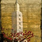 Temple with Red by Kevin Bergen