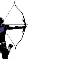 Clint Barton AKA Hawkeye by kimby1