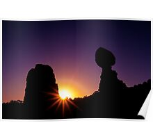 Balanced Rock Sunstar Poster