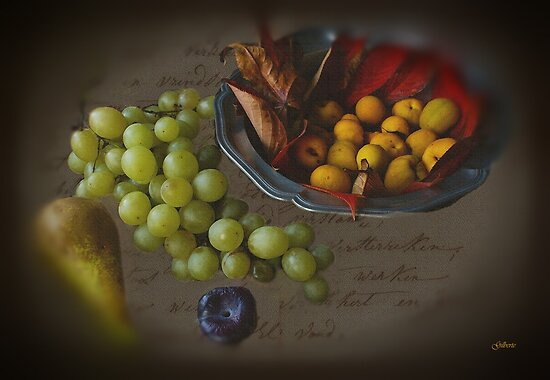 Autumn Fruit by Gilberte