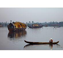 KERALA BACKWATERS - INDIA Photographic Print