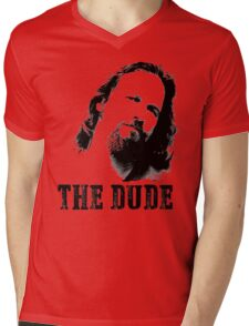 The Dude Mens V-Neck T-Shirt