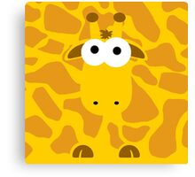 Minimal Giraffe Canvas Print