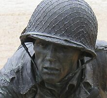 Statue of a Soldier at the WWII Memorial - Invasion of Normandy by BCallahan