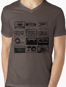 Retro Music 12 Mens V-Neck T-Shirt