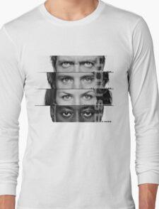 House Faces Long Sleeve T-Shirt