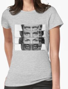 House Faces Womens Fitted T-Shirt