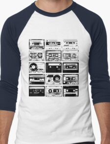 Retro Music 15 Men's Baseball ¾ T-Shirt