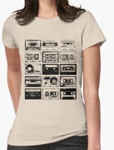 Retro Music 15 Womens Fitted T-Shirt