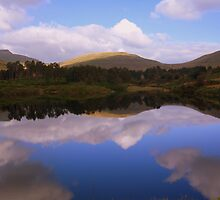 The Brecon Beacons: Upper Neuadd Reservoir Reflections. by Rob Parsons