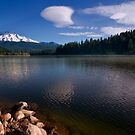 Lake Siskiyou and Mount Shasta by MattGranz