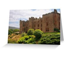 The Lake District: Muncaster Castle Greeting Card