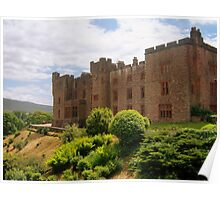 The Lake District: Muncaster Castle Poster
