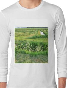 an unbelievable Netherlands landscape Long Sleeve T-Shirt