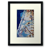 A mountain to Climb ~ Metal in Abstract Framed Print