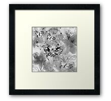 In Search of Butterflies Framed Print