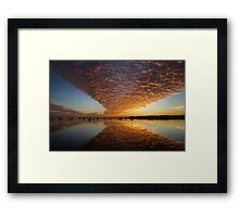 A 'Wow' of a Sunrise Framed Print