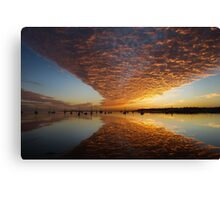 A 'Wow' of a Sunrise Canvas Print