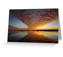 A 'Wow' of a Sunrise Greeting Card
