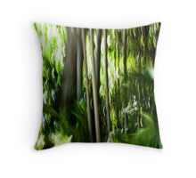 Light bound Throw Pillow