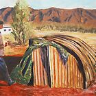 Humpy Dwelling, Northern Territory by Estelle O'Brien