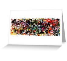 Rainbow Splatter Greeting Card