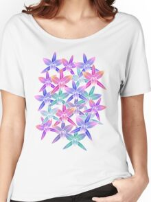 Hawaiian flowers Women's Relaxed Fit T-Shirt